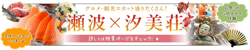 瀬波 汐美荘 特集ページ
